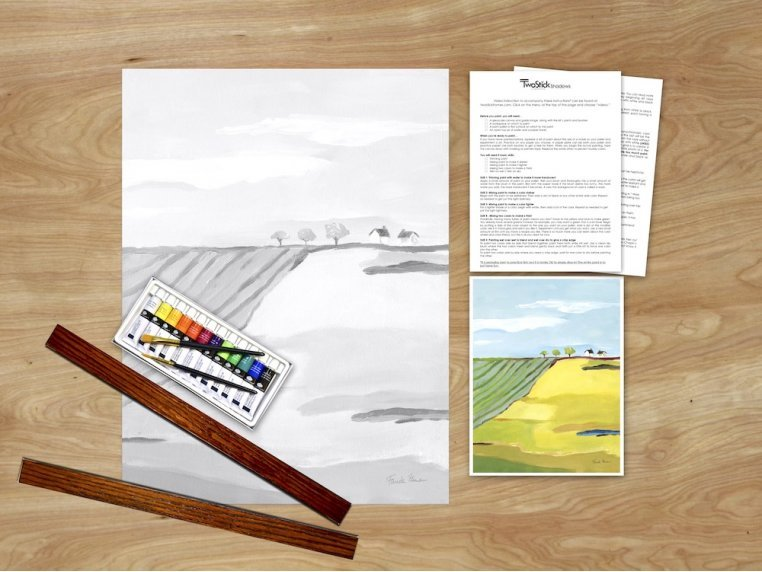 Masterpiece Paint Kit by Chirpwood Shadows - 15