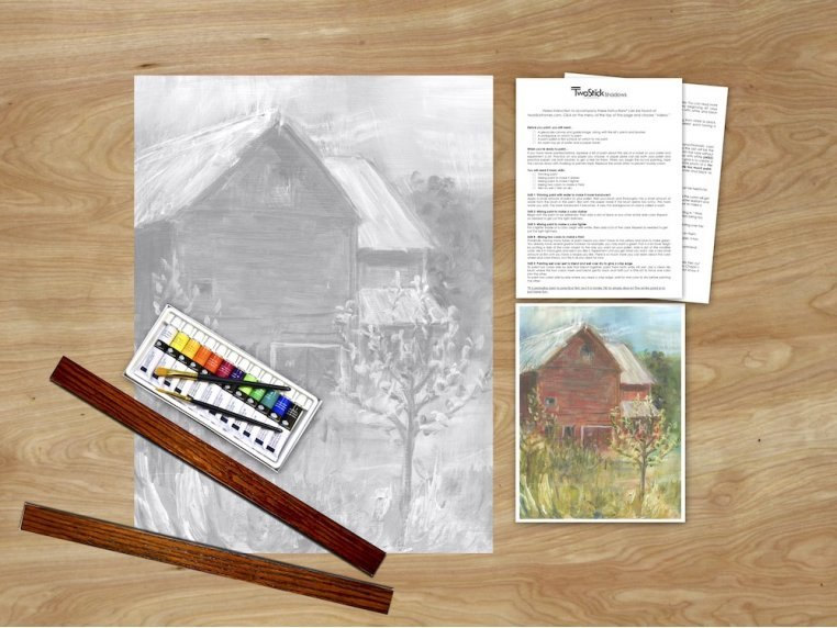Masterpiece Paint Kit by Chirpwood Shadows - 21