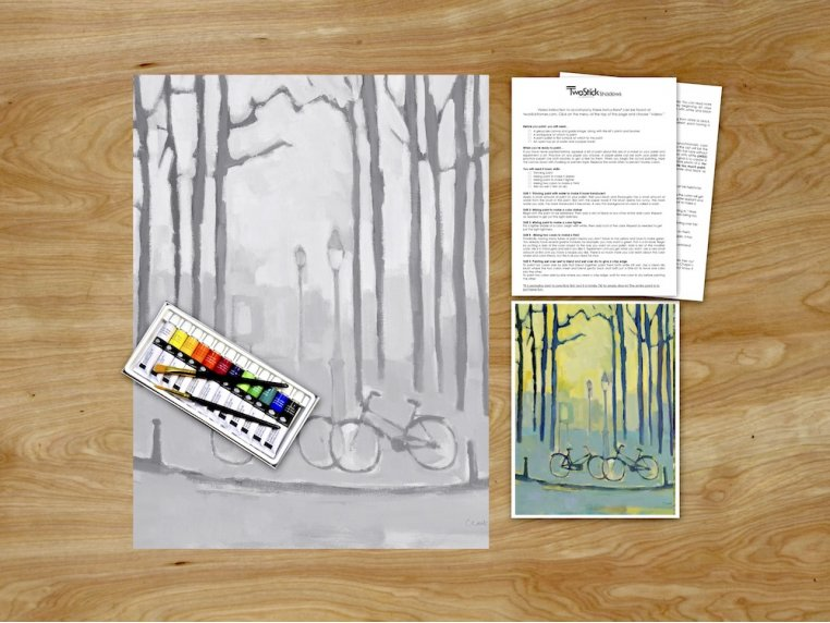 Masterpiece Paint Kit by Chirpwood Shadows - 23