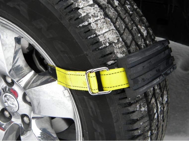 Tire Traction Straps by Trac-Grabber - 1