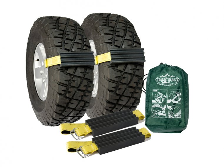 Tire Traction Straps by Trac-Grabber - 7