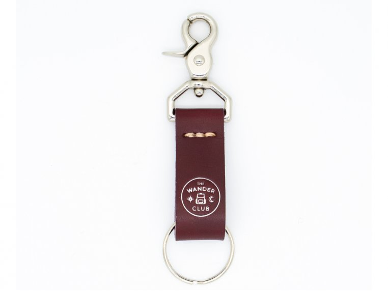 Leather Keyring Birthday Name Optional Engraving Dominic
