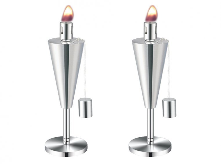Stainless Steel Garden Torch by Anywhere Fireplace - 5