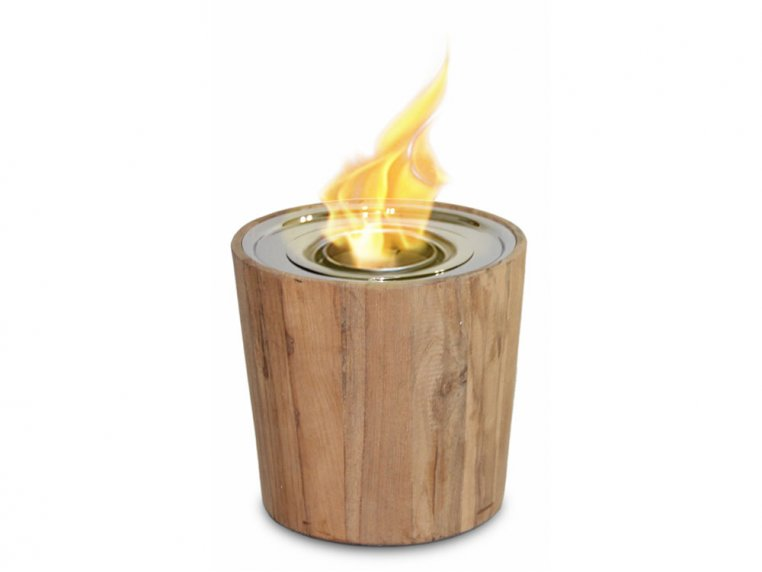 Sag Harbor Teak Fire Bowl by Anywhere Fireplace - 1