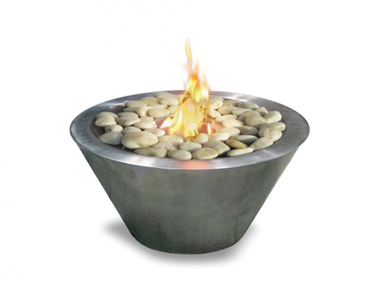 Oasis Metal Indoor/Outdoor Fire Bowl by Anywhere Fireplace - 2