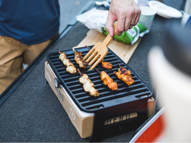 HERO™ Portable Charcoal Grill by Fire & Flavor - 2
