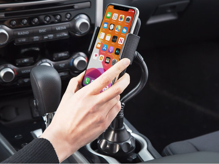 Universal Cup Holder Phone Mount by TOPGO - 2