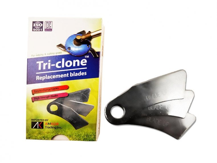 Tri-Clone Trimmer Replacement Blades by AMKOR Trading - 1