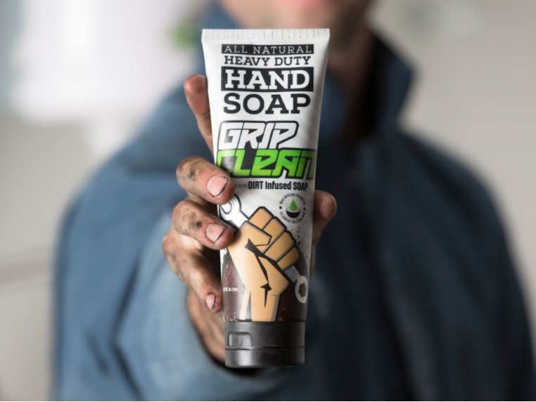 Natural Heavy-Duty Hand Soap by Grip Clean - 2