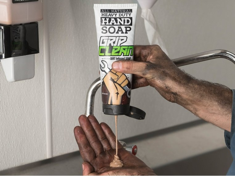 Natural Heavy-Duty Hand Soap by Grip Clean - 1