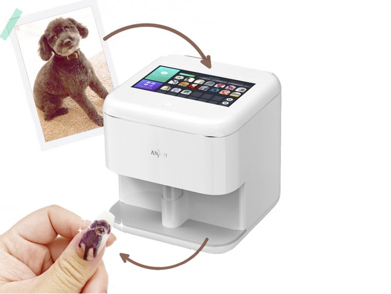 Digital Nail Art Printer by Anjou - 3