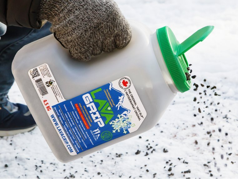 Eco-Friendly Ice Melt Alternative by LavaGrip - 1