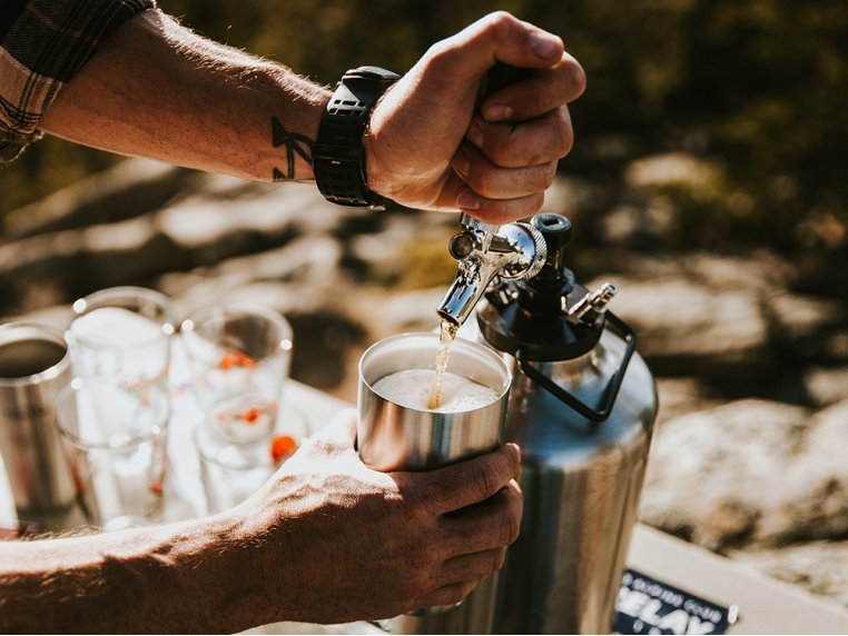 Pressurized Growler with Tap Kit by TrailKeg - 2