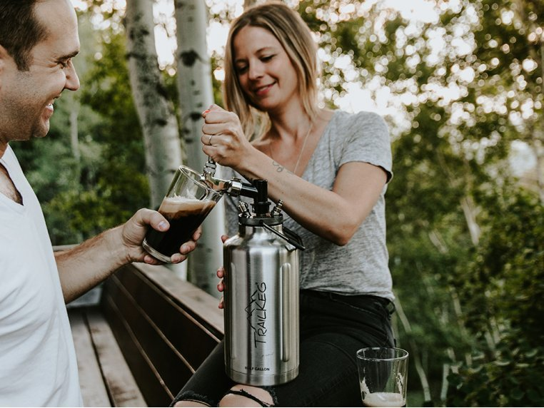Pressurized Growler with Tap Kit by TrailKeg - 3