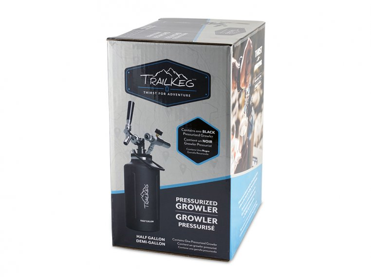 Pressurized Growler with Tap Kit by TrailKeg - 7