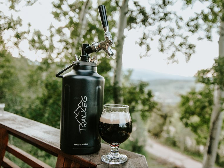 Pressurized Growler with Tap Kit by TrailKeg - 1