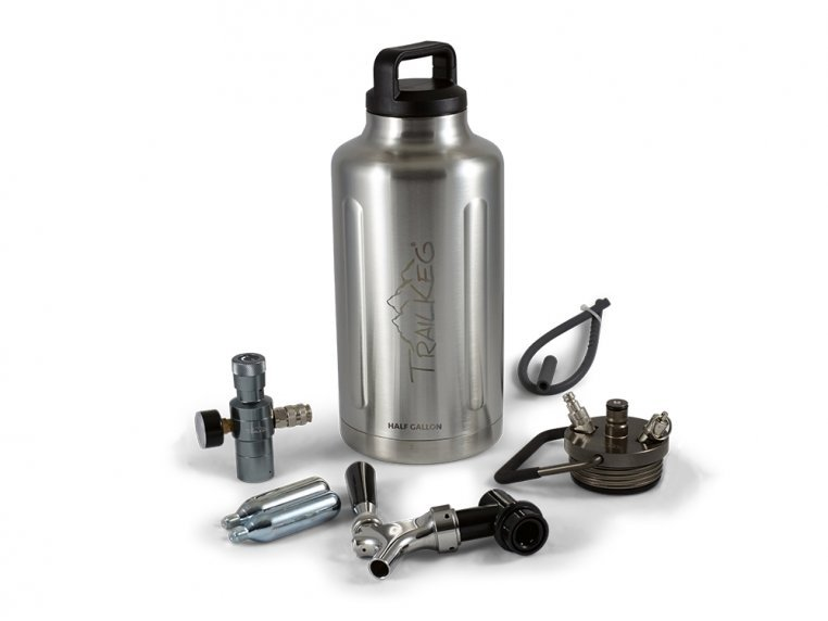 Pressurized Growler with Tap Kit by TrailKeg - 8