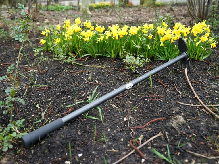 Long-Handled 2-in-1 Cultivator by DeWit Garden Tools - 1