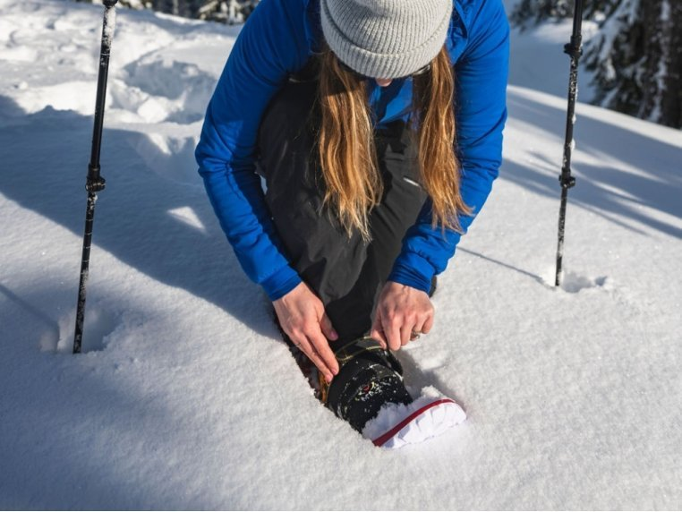 Lightweight Foam Snowshoes by Crescent Moon Snowshoes - 2