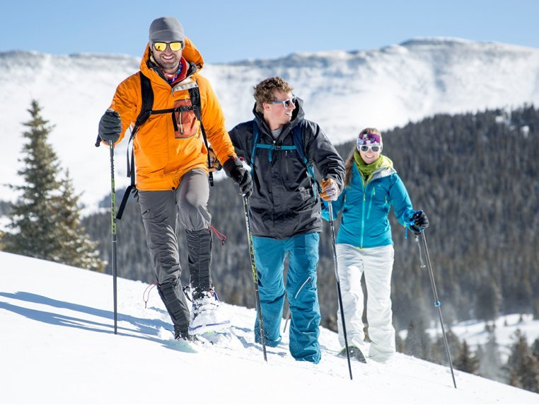 Lightweight Foam Snowshoes by Crescent Moon Snowshoes - 3