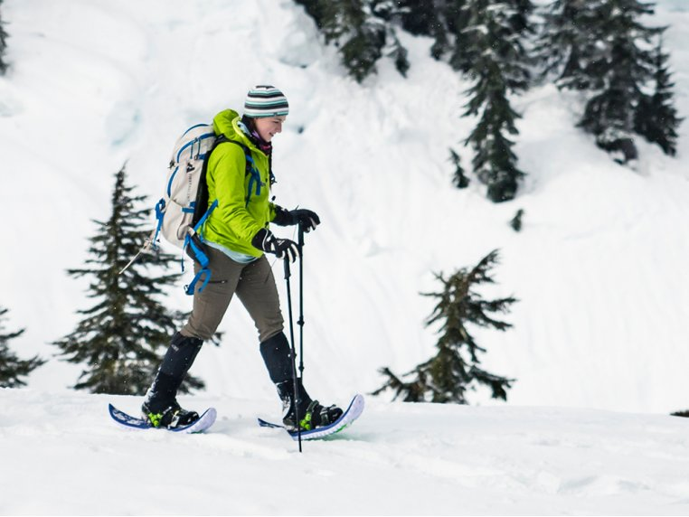 Lightweight Foam Snowshoes by Crescent Moon Snowshoes - 1
