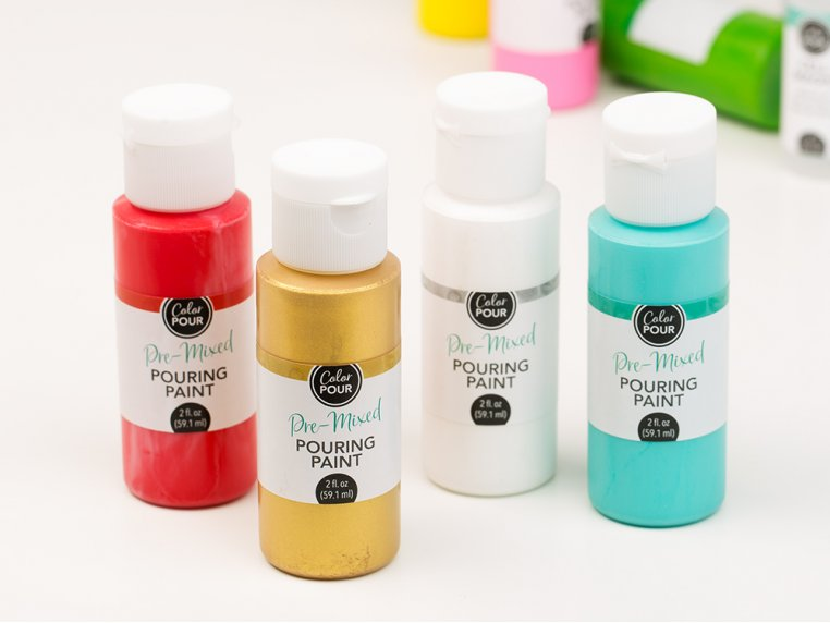 Color Pour Painting Starter Kit by American Crafts - 3