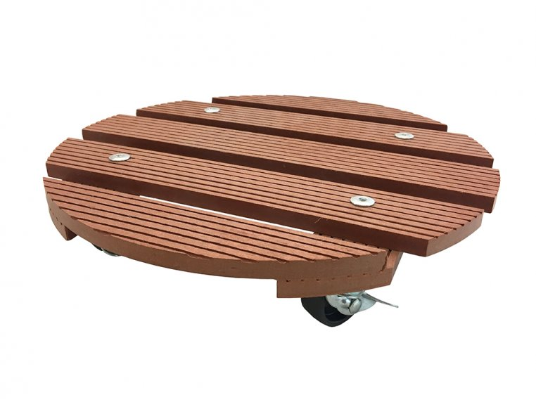 Rolling Plant Saucer Caddy by Wagner - 5