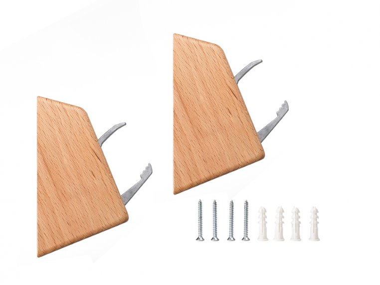 Swedish Wall Hook - 2-Pack by Linden Sweden - 6