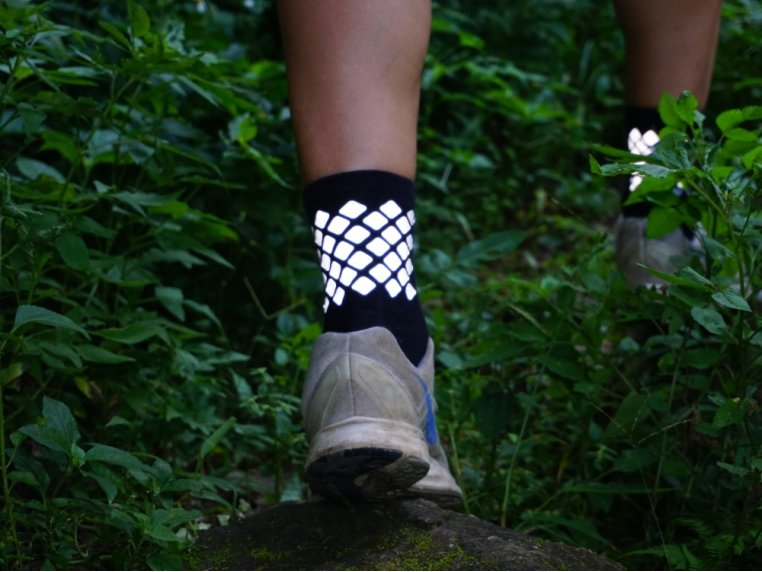 Reflective Cycling & Running Socks by ReflecToes - 1