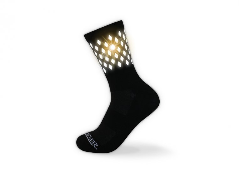 Reflective Cycling & Running Socks by ReflecToes - 3