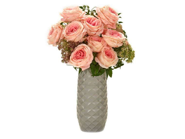 Easy Drain & Stem Access Flower Vase by Amaranth Vase Company - 6