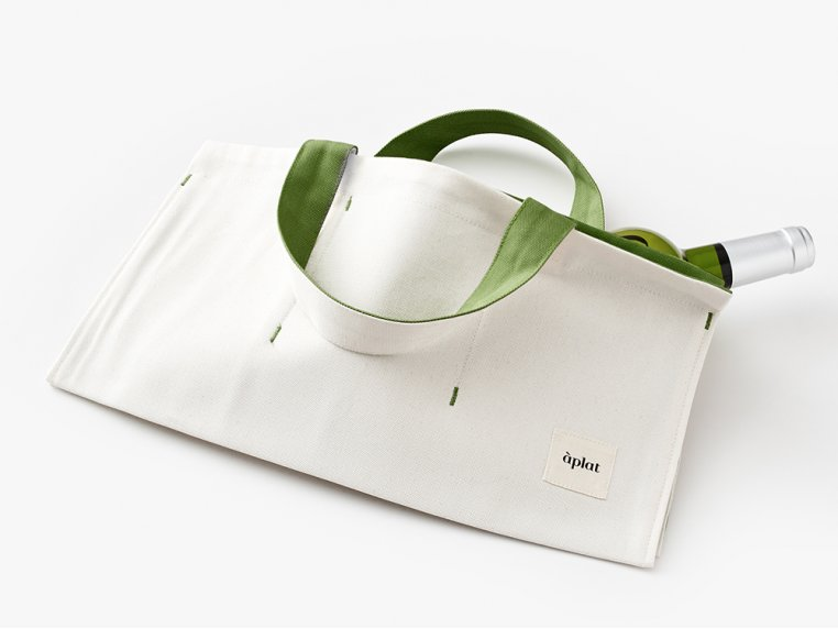 Canvas Picnic Tote Bag by Aplat - 4