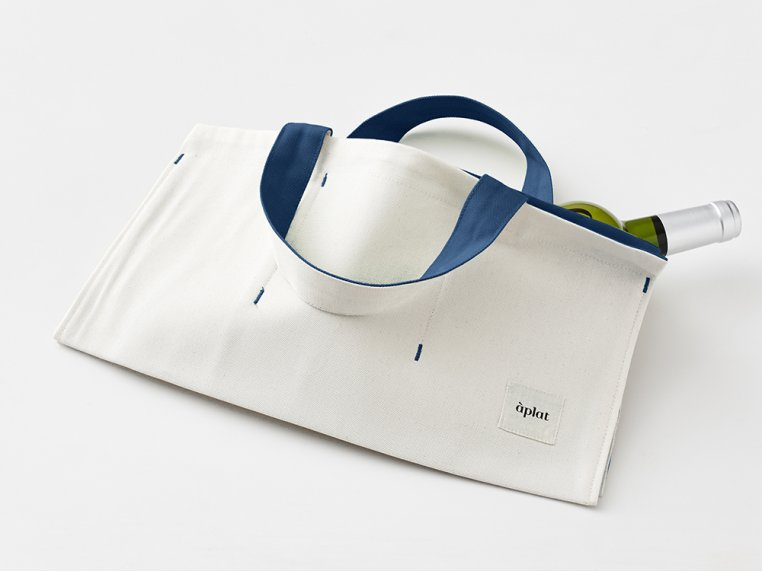 Canvas Picnic Tote Bag by Aplat - 5