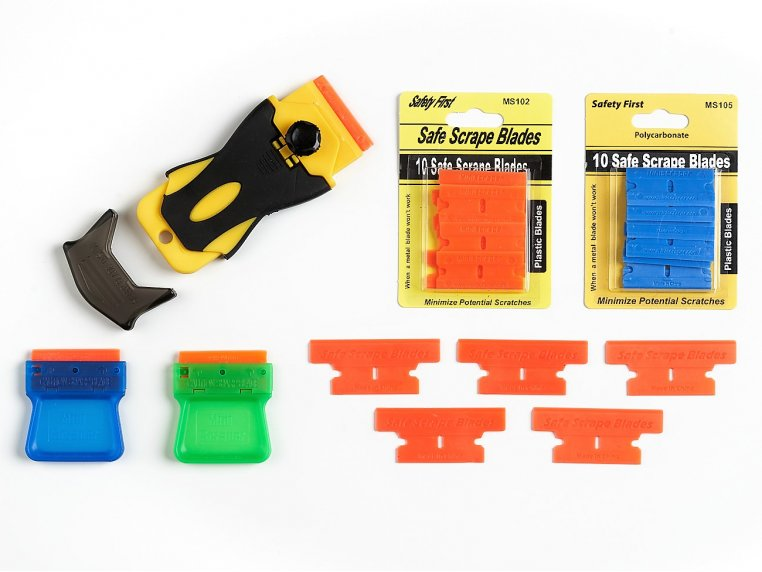 Ergonomic Composite Scraper Tool Kit by MiniScraper® - 6