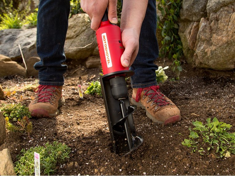 Electric Handheld Shovel and Auger by RotoShovel - 2