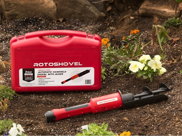 Electric Handheld Shovel and Auger by RotoShovel - 3