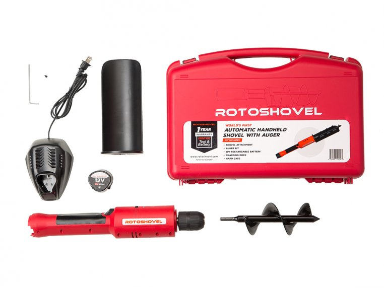 Electric Handheld Shovel and Auger by RotoShovel - 7