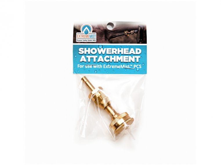 Cooling System Showerhead Attachment