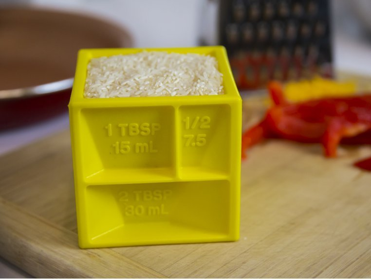 All-in-1 Measuring Cube by The Kitchen Cube - 1