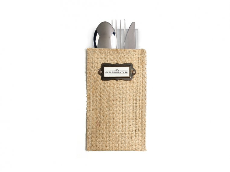 Message Silverware Pouch - Set of 8