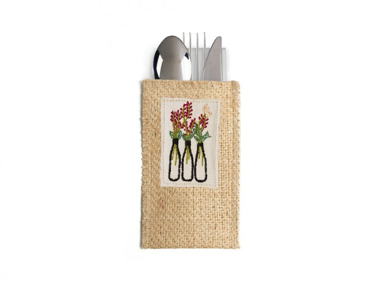 Silverware Pouch - Set of 8 by Cutlery Couture - 5