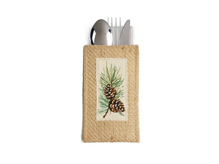 Silverware Pouch - Set of 8 by Cutlery Couture - 15