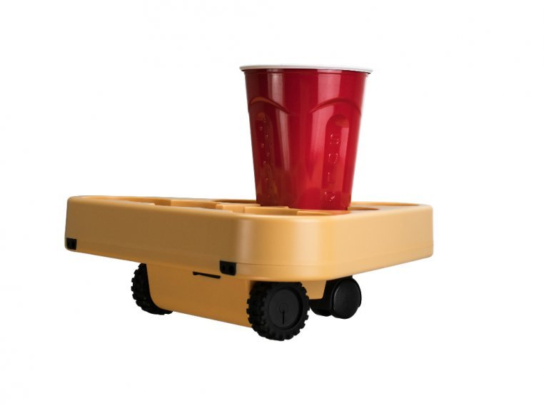 Moving Beer Pong Robot by BRUU - 4
