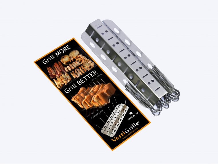10-in-1 Grill & Oven Rack by VertiGrille® - 4