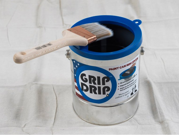 Paint Can Rim Covers - Set of 2 by Grip Drips - 1