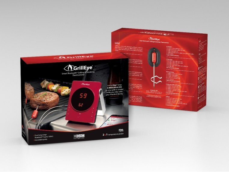 Bluetooth Grilling Thermometer by GrillEye - 2