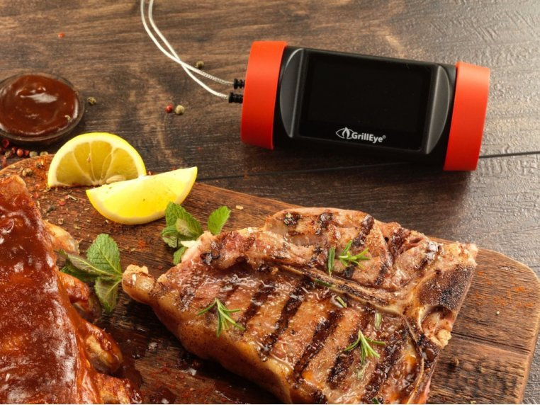 Hybrid Grill & Smoke Thermometer by GrillEye - 2