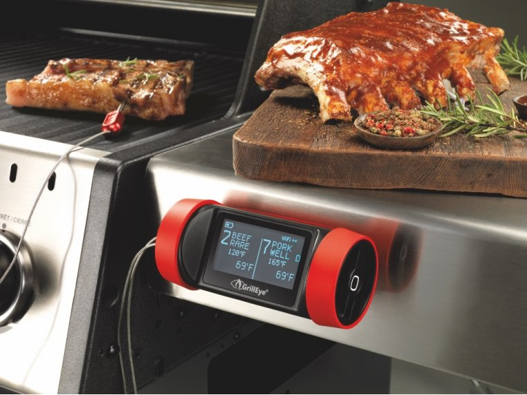 Hybrid Grill & Smoke Thermometer by GrillEye - 1