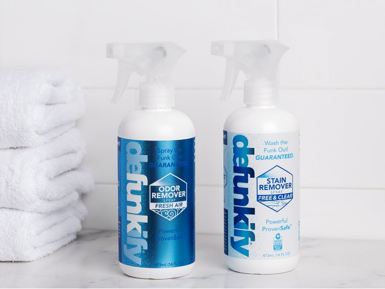Eco-friendly Odor & Stain Remover Set by Defunkify - 1