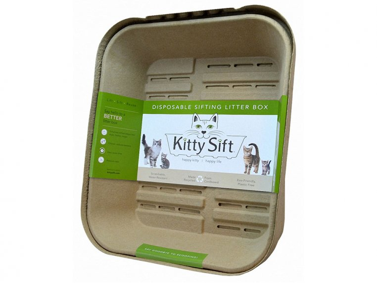 Disposable Sifting Litter Box by Kitty Sift - 6